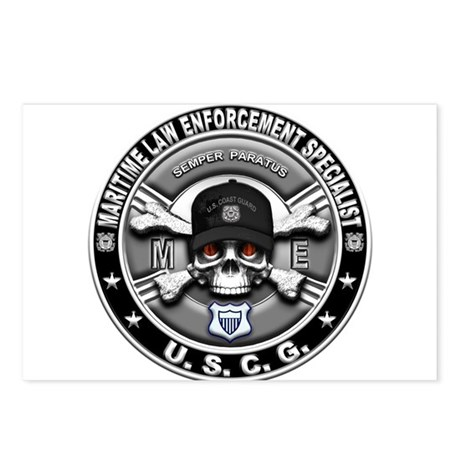 USCG Maritime Law Enforcement Postcards (Package o