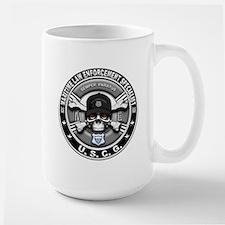 USCG Maritime Law Enforcement Large Mug