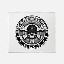 USCG Maritime Law Enforcement Throw Blanket