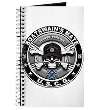 USCG Boatswains Mate Skull BM Journal
