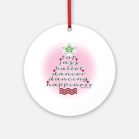 Dancers Christmas Tree by DanceShirts.com Ornament