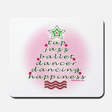 Dancers Christmas Tree by DanceShirts.com Mousepad