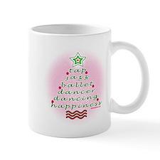 Dancers Christmas Tree by DanceShirts.com Mug