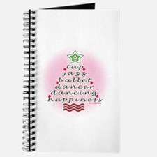 Dancers' Christmas Tree Journal