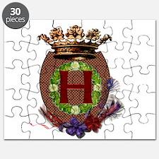 H Crest Puzzle