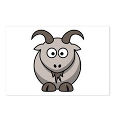 Cartoon Goat Postcards (Package of 8)