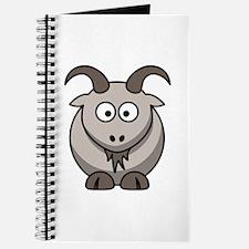 Cartoon Goat Journal