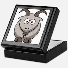 Cartoon Goat Keepsake Box