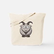 Cartoon Goat Tote Bag