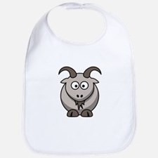 Cartoon Goat Bib