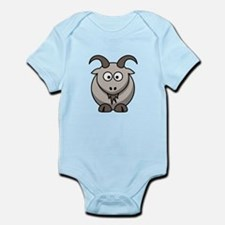 Cartoon Goat Infant Bodysuit