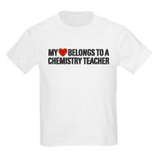 My Heart Chemistry Teacher T-Shirt