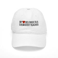 My Heart Chemistry Teacher Baseball Cap