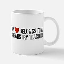 My Heart Chemistry Teacher Mug