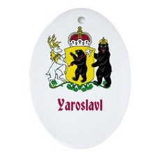 Yaroslavl (name) Ornament (Oval)