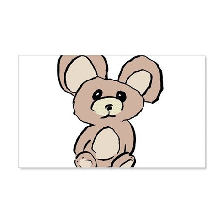 Stuffed Beary 22x14 Wall Peel