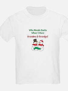 Santa Grandparents T-Shirt