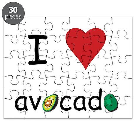 I Love Avocado Puzzle