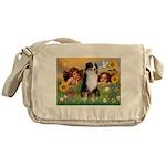 Cherubs / Aussie (tri) Messenger Bag