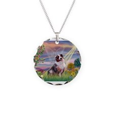 Cloud Angel / Aussie (bm) Necklace