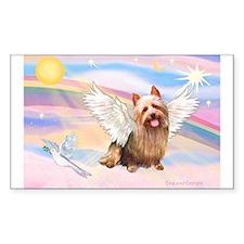 Australian Terrier Angel Decal