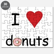 I Love Donuts Puzzle