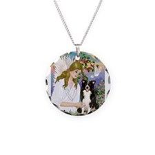 Angel Love / Border Collie Necklace