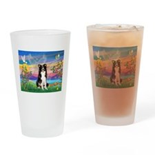 Guardian (#2) / Border Collie Drinking Glass
