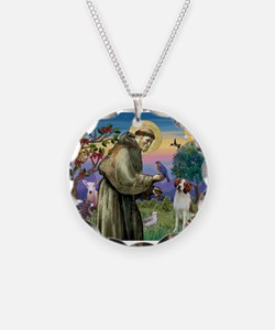 St Francis / American Brittan Necklace