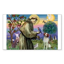 St Francis / American Brittan Decal