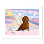 Dachshund / Angel (br) Small Poster