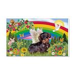 Rainbow Bright / Dachshund (w 22x14 Wall Peel
