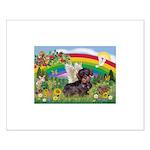 Rainbow Bright / Dachshund (w Small Poster