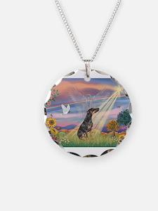 Cloud Angel - Dobie (B) Necklace