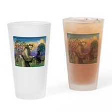 St. Francis & FCR Drinking Glass