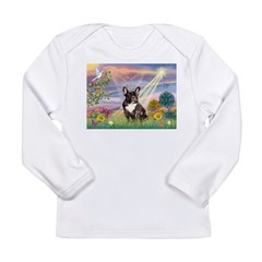 Cloud Angel / Fr Bulldog (bri Long Sleeve Infant T