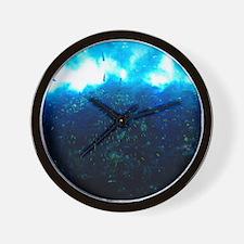 Underwater Surf Wall Clock