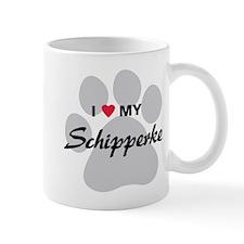 I Love My Schipperke Mug