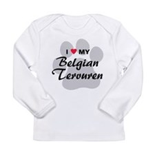 I Love My Belgian Tervuren Long Sleeve Infant T-Sh