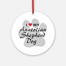 Anatolian Shepherd Dog Ornament (Round)