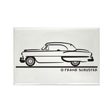 1953 Chevy 2-10 Convertible B Rectangle Magnet