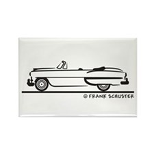 1953 Chevrolet Convertible Be Rectangle Magnet