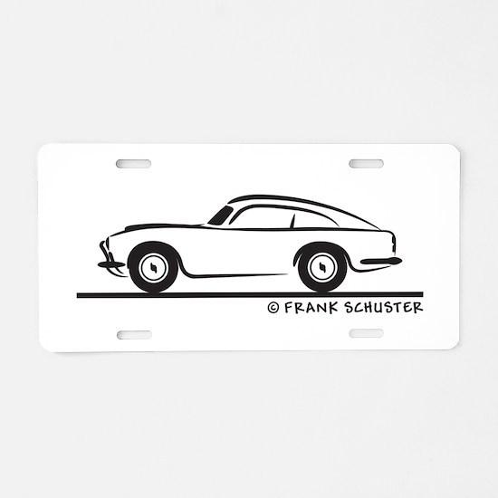 Aston Martin DB5 Aluminum License Plate