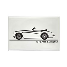Austin Healey 3000 MK II Rectangle Magnet