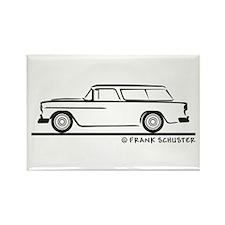 1955 Chevrolet Nomad Bel Air Rectangle Magnet