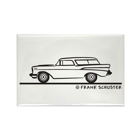 Chevrolet Nomad Bel Air Rectangle Magnet (10 pack)