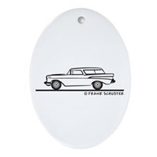 Chevrolet Nomad Bel Air Ornament (Oval)