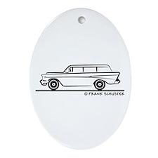 1957 Chevrolet 2-10 Stationwa Ornament (Oval)