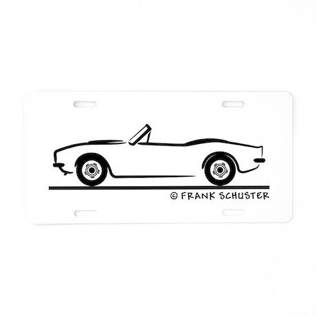 1967, 1968, 1969 Chevrolet C Aluminum License Plat