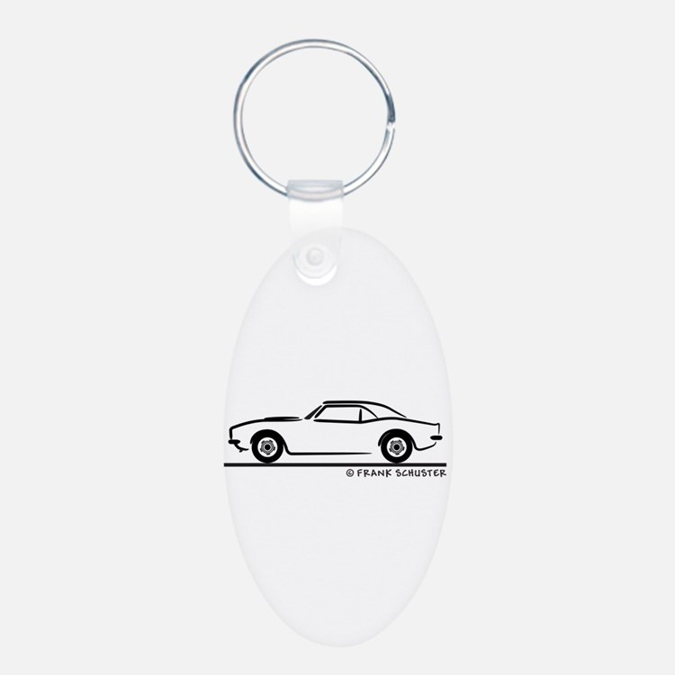 1967, 1968, 1969 Camaro Keychains